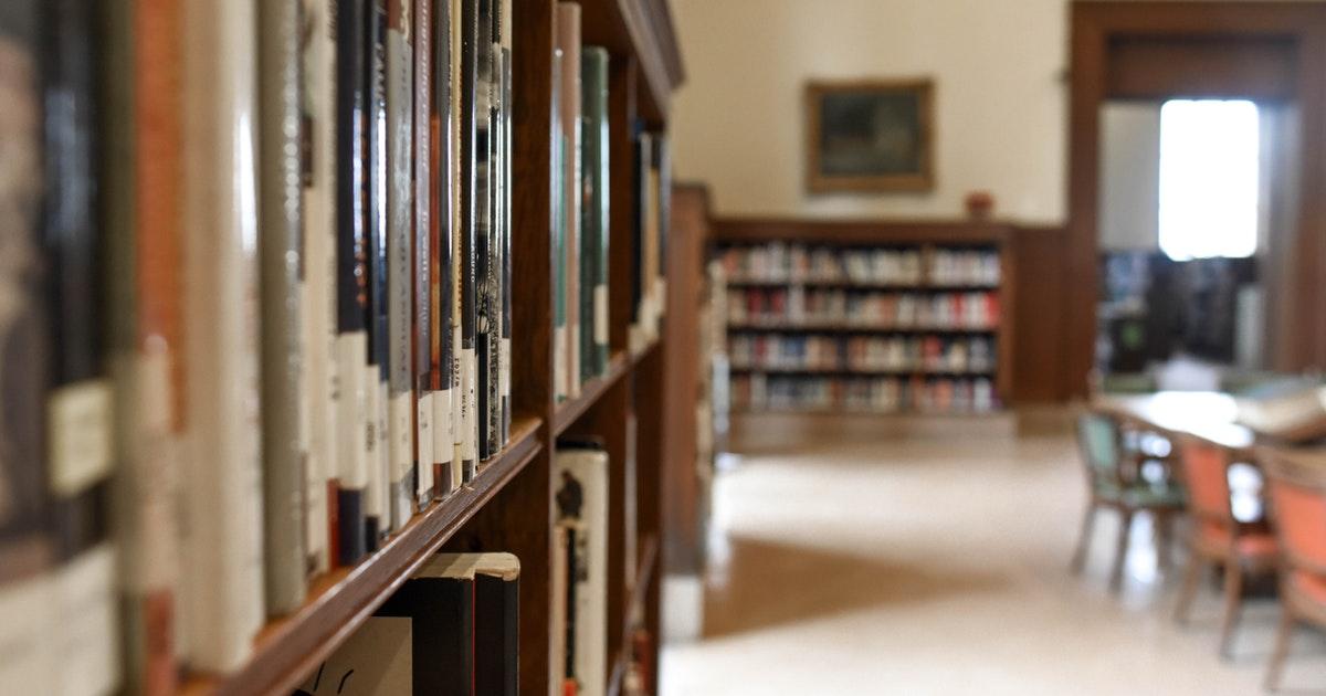 biblioteca di una scuola e immissioni in ruolo per il 2019