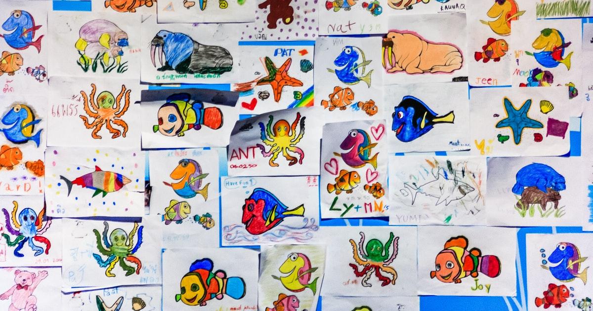 disegni in scuola dell'infanzia e primaria